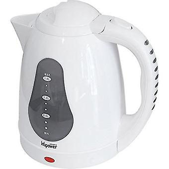 Infapower 1.8L 360 Degree Cordless Kettle 2200w - White (Model No. X502)