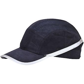 Portwest Mens Vent lättvikts bomull bula Hat mössa