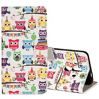 Pocket plånbok motiv 34 för Huawei mate 10 Pro cover case fodral cover skyddande lock