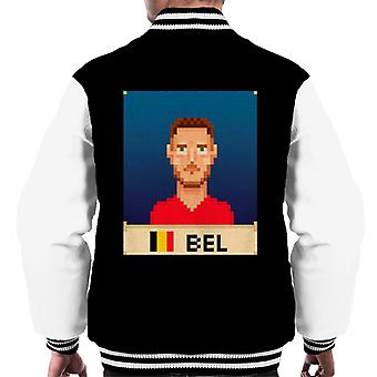 World Cup Belgium Hazard Men's Varsity Jacket