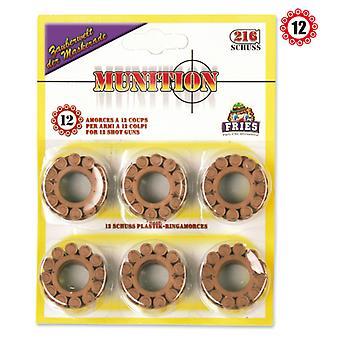12 ring durée munitie pistool geweer ring munitie
