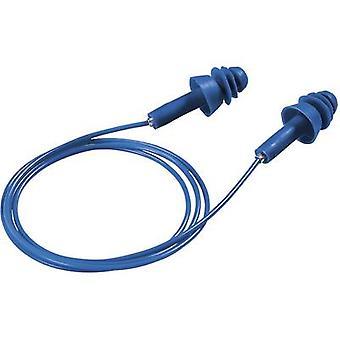 保護耳栓 27 dB 再利用可能な Uvex 2111239 50 ペア