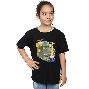 Disney Mädchen Dumbo Zirkus T-Shirt