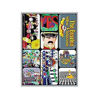 Beatles Yellow Submarine magnes Mini zestaw