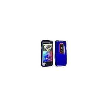 Technocel Slider Skin Case Cover for HTC Evo 3D (Blue) - HTCEVO3DSSL-Z