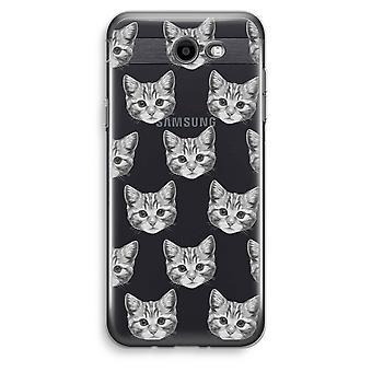 Samsung Galaxy J3 Prime (2017) przezroczysty (Soft) - kotek