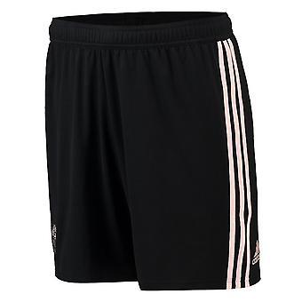 2018-2019 man Utd Adidas bort Shorts (svart)