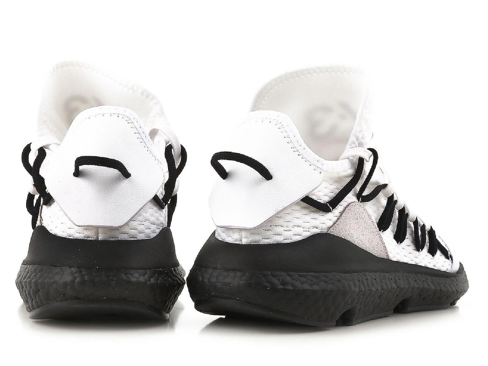 Y3 mäns låg topp Kusari vita sneakers skor