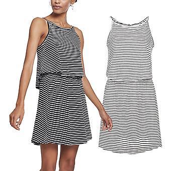 Urban classics ladies - 2-layer spaghetti dress