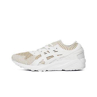 ASICs Gelkayano Trainer malha HN7R00101 universal todos os sapatos de homens do ano