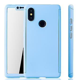 Xiaomi MI 8 SE mobilnych sprawa ochrony sprawa full-cover ochrony szkła światła niebieski zbiornika