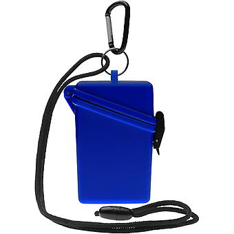 Witz houden het veilige lichtgewicht waterdichte Sport Case - blauw