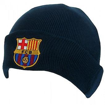 FC バルセロナ公式大人ユニセックス ターン ニット帽子を