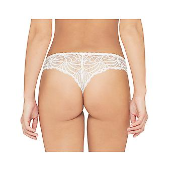 Bestform 453 Women's Pampelune Solid Colour Lace Thong Panty Tanga