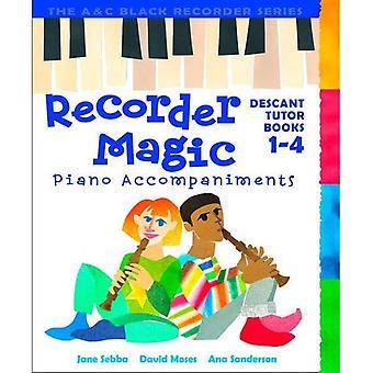 Recorder magi: Piano ackompanjemangar: Bk.1-4 (Recorder magi)