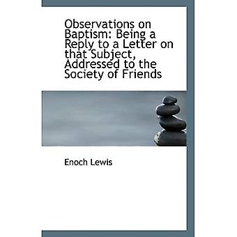 Huomioita kaste: vastausta kirjeeseen aiheesta, käsitellään Frie yhteiskunnan