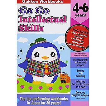 Go Go älyllisten taitojen 4-6 (Gakkenworkbooks)