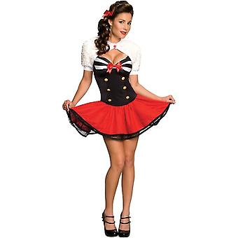 Sailor Pin Up Costume adulte