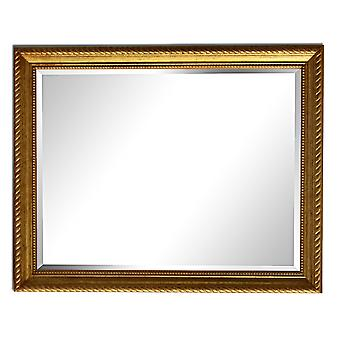 25x30 cm or 10x12 inch, mirror in gold
