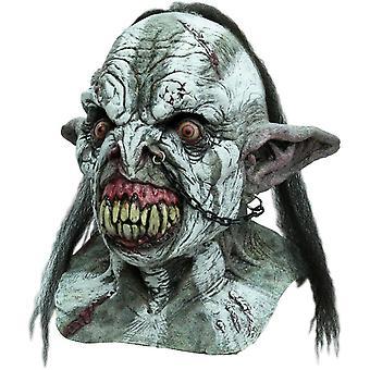 Slag bij Orc volwassene Latex masker voor volwassenen