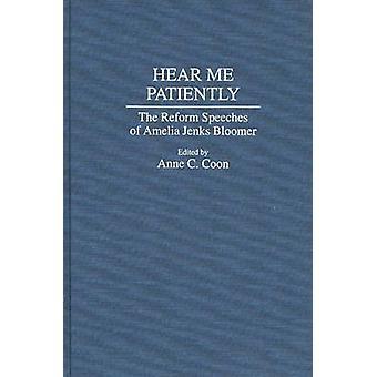あらいくまによってアメリア ・ ジェンクス ブルマー ・ アン C. の改革のスピーチを辛抱強く私を聞く