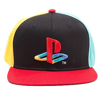 Original PlayStation Coloured Logo Snapback Cap