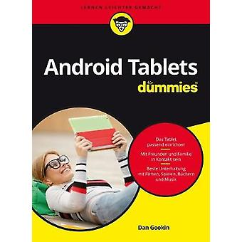 Android Tablets Fur Dummies by Dan Gookin - 9783527713974 Book