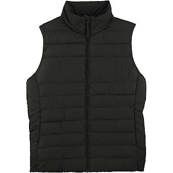 greenT Womens 100% Recycled Turtle Neck Gilet Bodywarmer