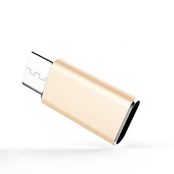 Adapter Micro-USB to USB-C, aluminum