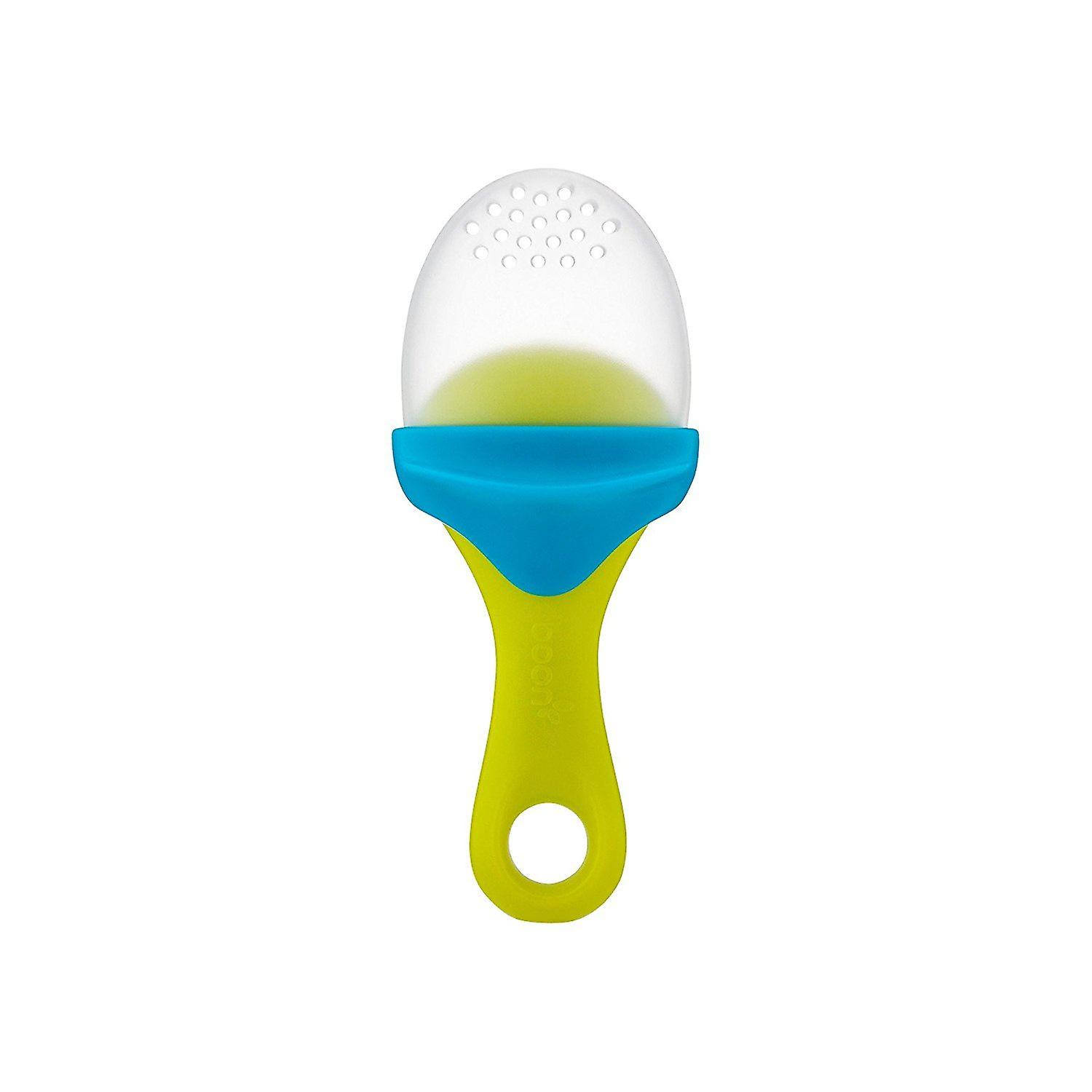 Boon Pulp Blue And Green Silicone Feeder