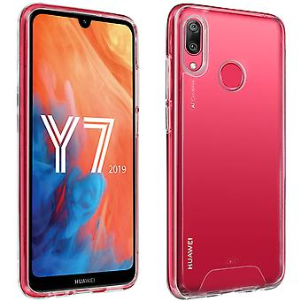 Cristal Series case, hybrid backcover for Huawei Y7 2019 - Ultra clear