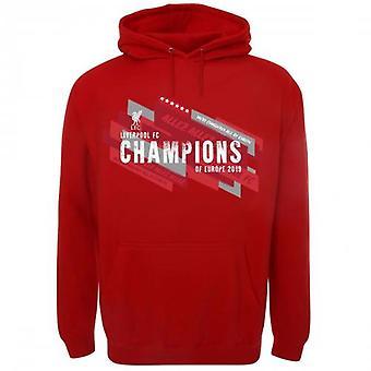Liverpool F.C. Champions of Europe Hoodie Mens S