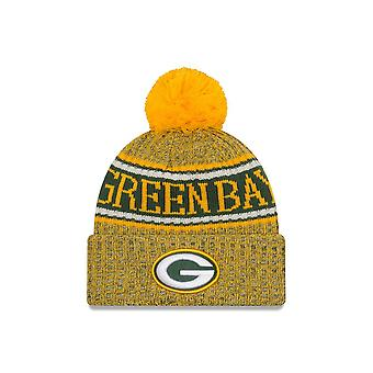 New Era Nfl Green Bay Packers 2018 Sideline inverse Sport Knit