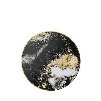Ideaal van Zweden Fashion Qi lader-zwart Galaxy marmer