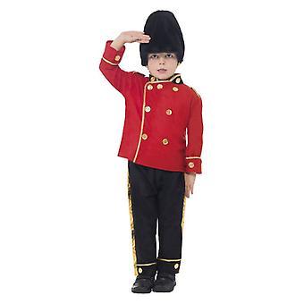 Garçons Busby Guard Soldier Fancy Dress Costume