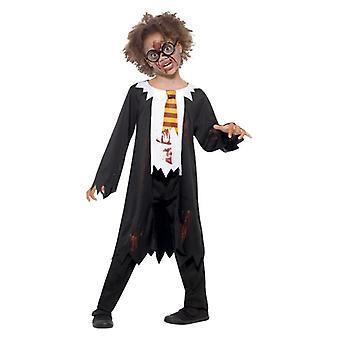 Childrens zombie studerende fancy kjole kostume