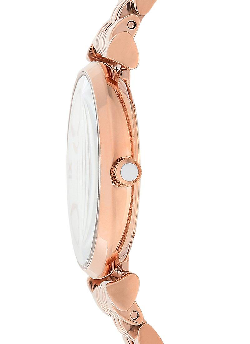 Emporio Armani AR11110 Ladies Gianni T-Bar Rose Gold Watch