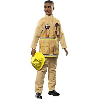 Barbie, You can be anything-Ken firefighter