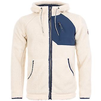 Napapijri Toe Full zip In cappuccio Fleece