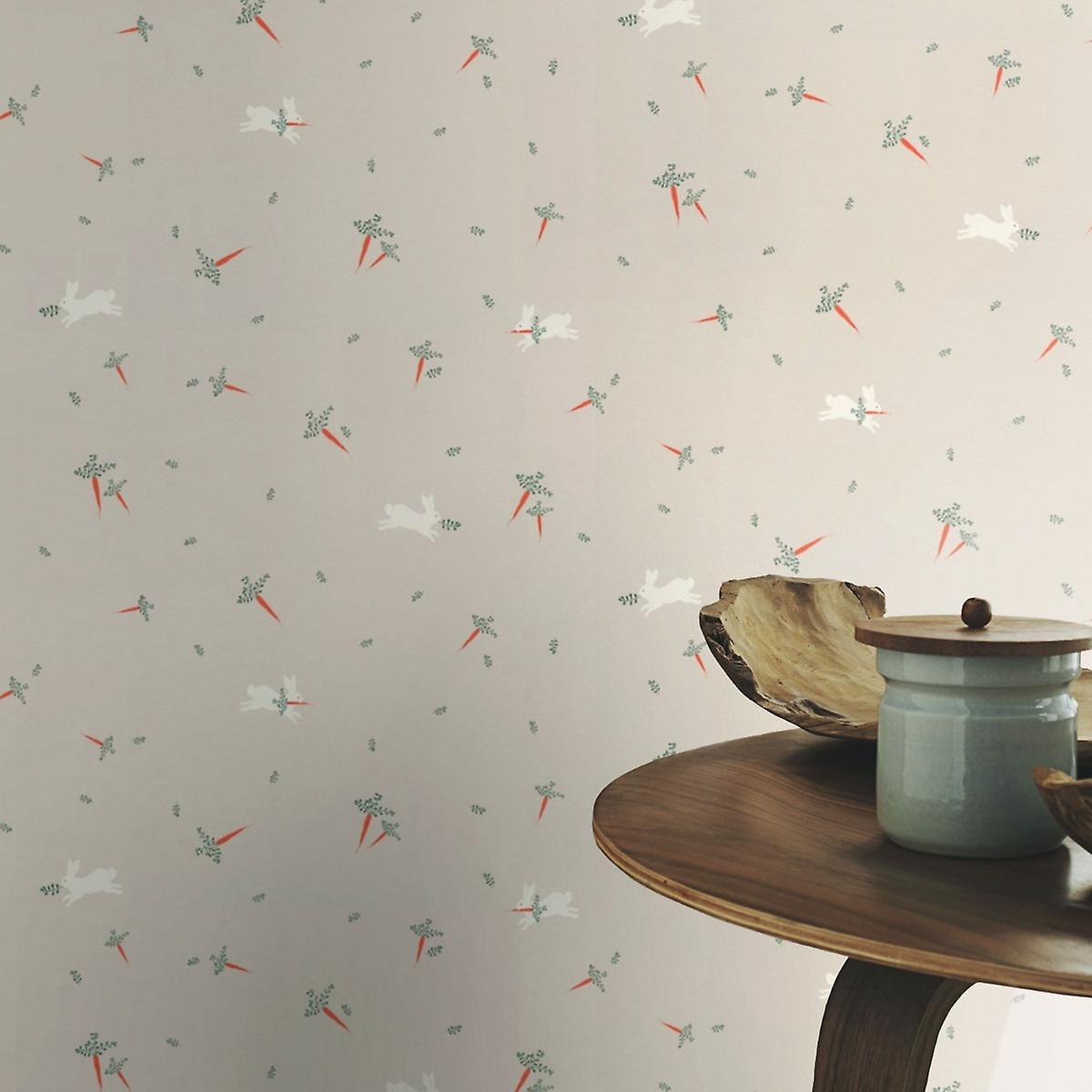Bambino XVIII Rabbits Wallpaper Rasch