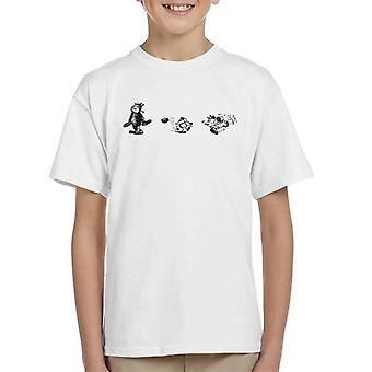 Krazy Kat Brick Mid Air Kid's T-Shirt