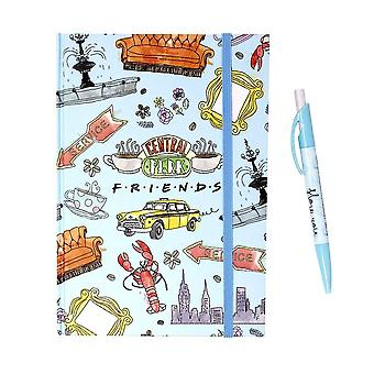 Friends Notebook and Pen Gift Set