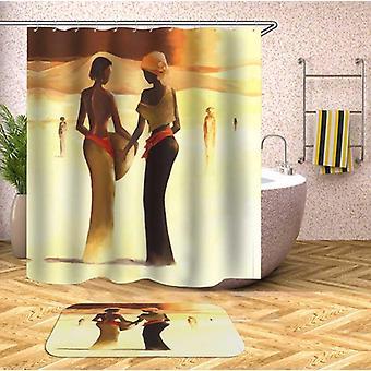 Art Painting African Women Shower Curtain