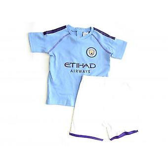 Manchester City FC Baby Toddler Sleep Set