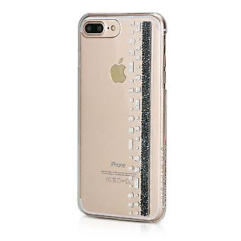 Hull For IPhone 8 Plus/7 Plus Hermitage Jet With Swarovski Crystals
