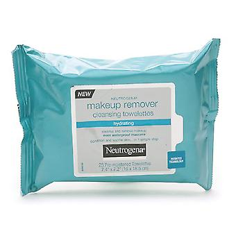 Neutrogena hydrating makeup remover cleansing towelettes, 25 ea