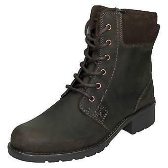 Ladies Clarks Ankle Boots Orinoco Spice
