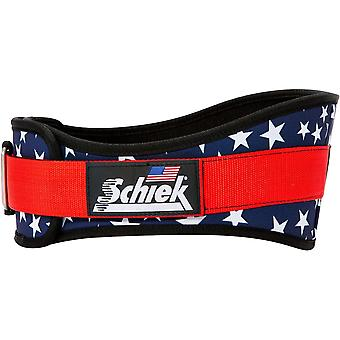"Schiek Sports Model 2006 Nylon 6"" Weight Lifting Belt - Stars"