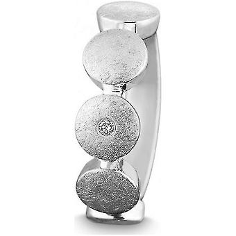 QUINN - Ring - Silber - Diamant - Wess. (H) - Weite 56 - 21252604