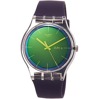 Swatch Polapurple mens Watch SUOK712